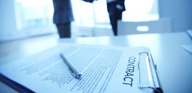Should we sign a contract or other legal document?