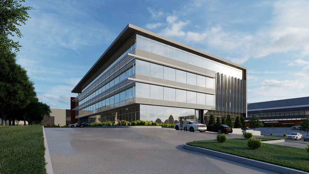 Rendering two of McMaster Innovation Park