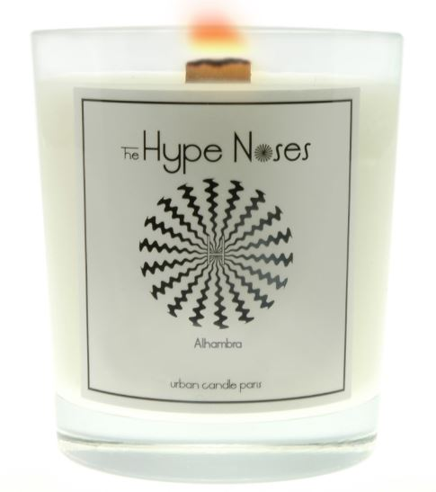 Example of The Hype Noses Candle design