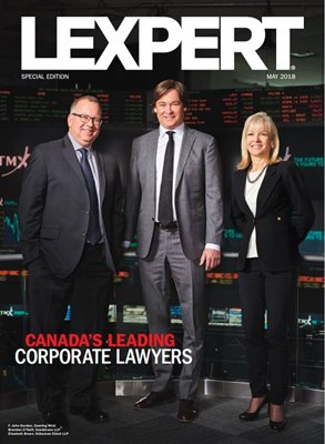 Lexpert Special Edition on Canada's Leading Corporate Lawyers