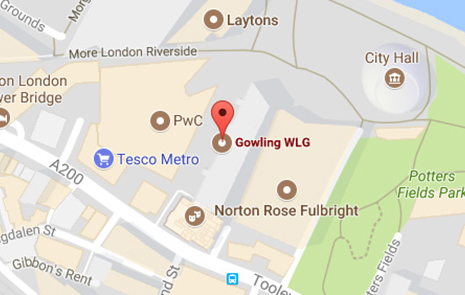 Map Of City Of London Uk.International Corporate Law Firm In London Uk Gowling Wlg